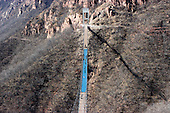 Glass Suspension Bridge Finished in China