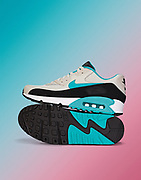 Nike airmax trainers shot on seamless