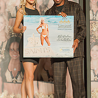 Saintsation, Danielle of Metairie, Louisiana won the Back cover Calendar at the 2012-2013 New Orleans,.