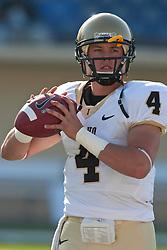 October 10, 2009; San Jose, CA, USA;  Idaho Vandals quarterback Logan Bushnell (4) before the game against the San Jose State Spartans at Spartan Stadium.  Idaho won 29-25.