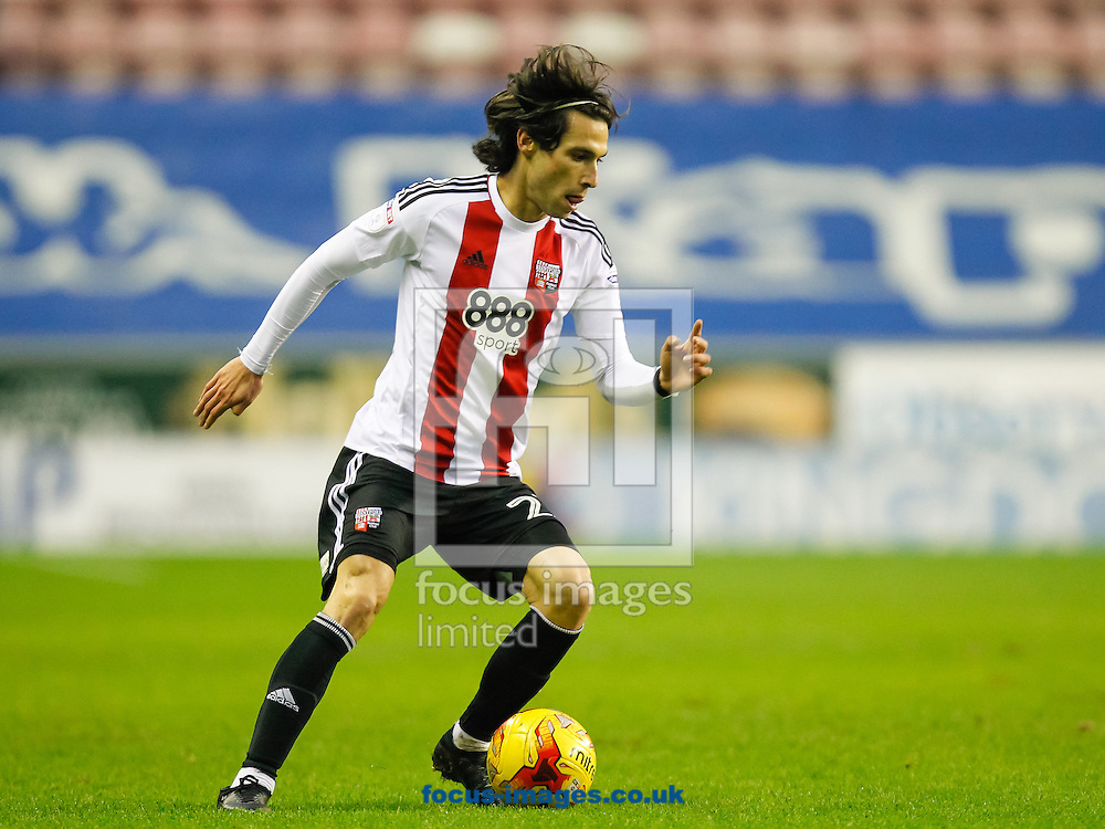 during the Sky Bet Championship match between Wigan Athletic and Brentford at the DW Stadium, Wigan<br /> Picture by Mark D Fuller/Focus Images Ltd +44 7774 216216<br /> 21/01/2017