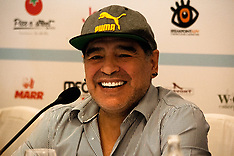 Maradona Press Conference - 4 July 2017
