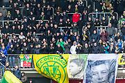 ALKMAAR - 19-03-2017, AZ - ADO Den Haag, AFAS Stadion, 4-0, uitvak met ADO supporters.
