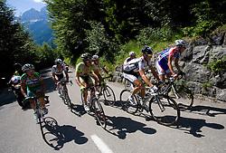 Peleton at 1st stage of Tour de Slovenie 2009 from Koper (SLO) to Villach (AUT),  229 km, on June 18 2009, in Koper, Slovenia. (Photo by Vid Ponikvar / Sportida)