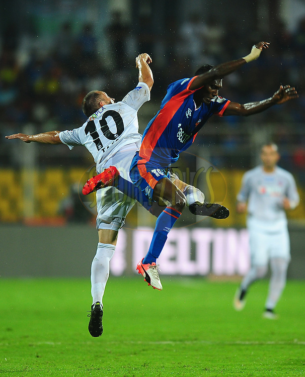 Fulganco Cardoza of FC Goa during match 8 of the Indian Super League (ISL) season 3 between FC Goa and FC Pune City held at the Fatorda Stadium in Goa, India on the 8th October 2016.<br /> <br /> Photo by Faheem Hussain / ISL/ SPORTZPICS