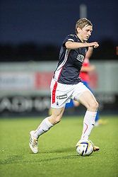 Falkirk's Blair Alston.<br /> Falkirk beat Cowdenbeath in a penalty shoot-out, second round League Cup tie played at The Falkirk Stadium.