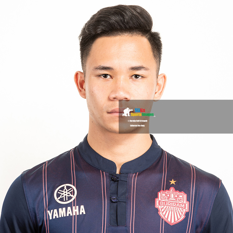 THAILAND - JUNE 26: Supachok Sarachat #19 of Buriram United on June 26, 2019.<br /> .<br /> .<br /> .<br /> (Photo by: Naratip Golf Srisupab/SEALs Sports Images/MB Media Solutions)