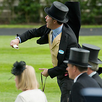 ASCOT, ENGLAND - JUNE 20:  Jumping for victory at the fifth and final day of Royal Week at Ascot Racecourse on June 20, 2009 in Ascot, England  (Photo by Marco Secchi/Getty Images)