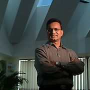 Ajay Kela, then COO of Symphony Services, photographed for Project Management Institute.