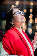 Portrait de Nana Mouskouri à l'hôtel William Grey à Montreal le 29 Mars 2018<br /> DOMINICK GRAVEL / AGENCE QMI