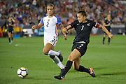 Ali Riley.<br /> Commerce City, Colorado - Friday September 15, 2017:  The USWNT takes on the New Zealand Women's National Football Team at Dick's Sporting Goods Park. Copyright photo: Jamie Schwaberow / ISI / www.photosport.nz