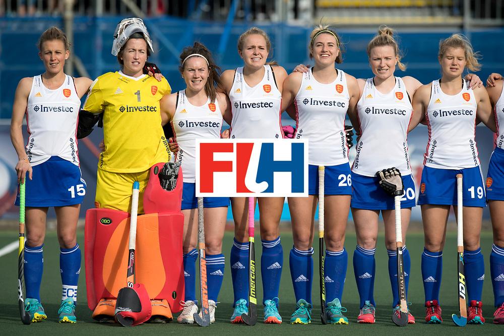 AUCKLAND - Sentinel Hockey World League final women<br /> Match id 10321<br /> Korea v England Bronze 1-0<br /> Korean win Bronz<br /> Foto:  National hyhm <br /> WORLDSPORTPICS COPYRIGHT FRANK UIJLENBROEK