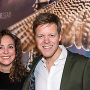 NLD/Amsterdam/20180226 - Premiere De wilde stad, Lex Uiting en partner Susan Oostdam