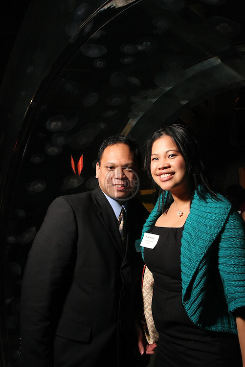 Greater Seattle Chamber of Commerce Annual Restaurant After Hours  event at the Seattle Aquarium on February 2, 2011.