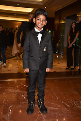 Sunny Pawar at The Asian Awards, The Hilton Park Lane, London England. 5 May 2017.<br /> Photo by Dominic O'Neill/SilverHub 0203 174 1069 sales@silverhubmedia.com