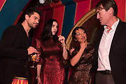 SUSIE CAVE, RUTH NEGGA Nick Cave and the Bad Seeds with The Vampire's Wife and Matchesfashion.com party to celebrate the end of their 2017 World tour. Lou lou's. Hertford St. Mayfair.