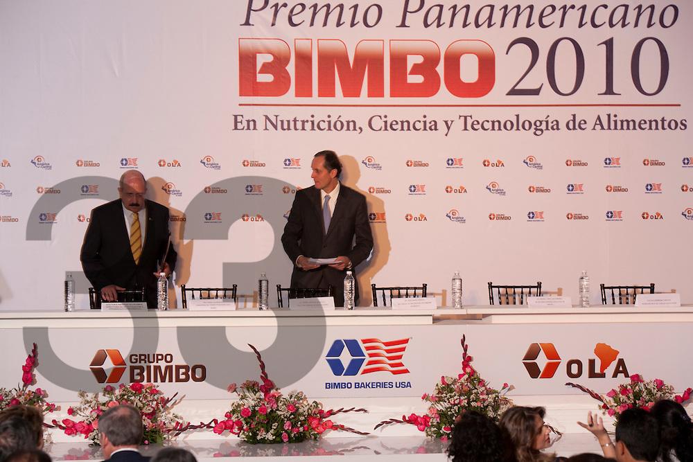 MEXICO, D.F. MEXICO; Premiación del Premio Panamericano Bimbo 2010. 22 FEBRERO 2011.