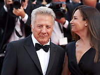 Actor Dustin Hoffman and Lisa Hoffman at The Meyerowitz Stories gala screening at the 70th Cannes Film Festival Sunday 21st May 2017, Cannes, France. Photo credit: Doreen Kennedy