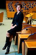 DEN HAAG - De nieuwe Tweede Kamervoorzitter Anouchka van Miltenburg