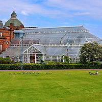 People's Palace at Glasgow Green in Glasgow, Scotland<br />