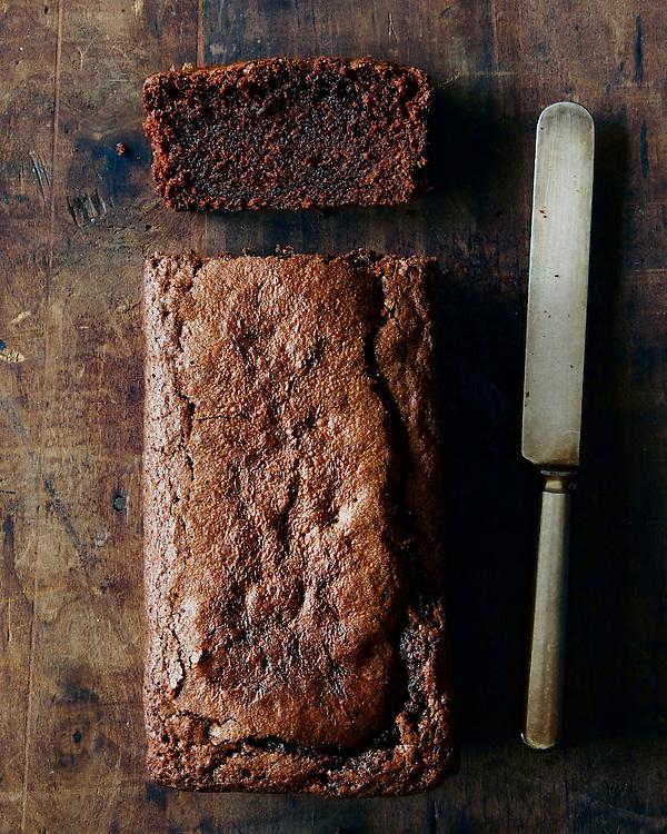 Dense Chocolate Loaf Cake