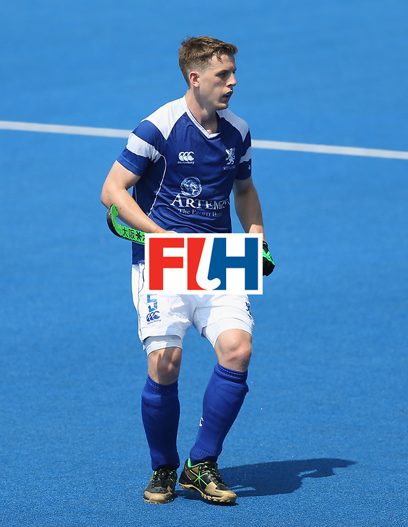 LONDON, ENGLAND - JUNE 19:  Michael Bremner of Scotland during the Hero Hockey World League Semi-Final match between Scotland and Pakistan at Lee Valley Hockey and Tennis Centre on June 19, 2017 in London, England.  (Photo by Alex Morton/Getty Images)