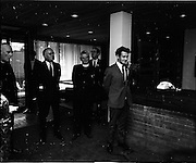 16/07/1970<br /> 07/16/1970<br /> 16 July 1970<br /> Opening of extension to the Four Courts Hotel, Dublin. Picture shows Mr. Desmond O'Malley T.D., Minister for Justice, speaking at the opening.