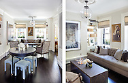 Front Parlor of Beacon Hill Townhouse. Designer: Patricia McDonagh Interior Design