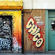 Chico graffiti doorways
