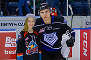 KELOWNA, CANADA - JANUARY 25: Second Star of the Game at the Kelowna Rockets game on January 25, 2019 at Prospera Place in Kelowna, British Columbia, Canada. (Photo By Cindy Rogers/Nyasa Photography, *** Local Caption ***