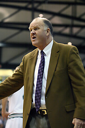 30 December 2006: Britons coach Mike Turner. The Titans outscored the Britons by a score of 94-80. The Britons of Albion College visited the Illinois Wesleyan Titans at the Shirk Center in Bloomington Illinois.<br />