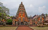 Balinese Hindu temple near Sukawati, Bali, Indonesia