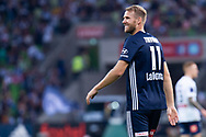 MELBOURNE, AUSTRALIA - APRIL 14: Ola Toivonen (11) of the Victory looks on during round 25 of the Hyundai A-League match between Melbourne Victory and Central Coast Mariners on April 14, 2019 at AAMI Park in Melbourne, Australia. (Photo by Speed Media/Icon Sportswire)