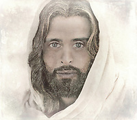 &quot;A million faces of Jesus by Dino Carbetta - Transparent&quot;...<br />