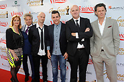 Rembrandt Awards - 2014 in het American Hotel, Amsterdam.<br /> <br /> Op de foto:  Blof met Niels Littooij (Nielson)