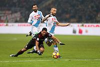 can - 20.01.2017 - Milano - Serie A 2016/17 - 21a giornata  -  Milan-Napoli  nella  foto: Lorenzo Insigne esulta dopo il gol