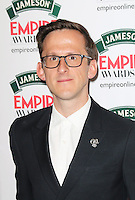 Adam Brown, Jameson Empire Film Awards, Grosvenor House Hotel, London UK, 30 March 2014, Photo by Richard Goldschmidt