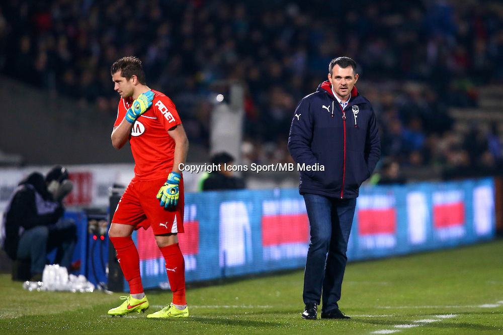 Willy Sagnol / Cedric Carrasso - 06.12.2014 - Bordeaux / Lorient - 17eme journee de Ligue 1 -<br />