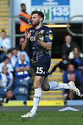 Leeds United midfielder Stuart Dallas (15) during the EFL Sky Bet Championship match between Blackburn Rovers and Leeds United at Ewood Park, Blackburn, England on 20 October 2018.