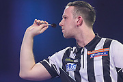 Callan Rydz during the PDC William Hill World Darts Championship at Alexandra Palace, London, United Kingdom on 19 December 2019.