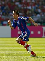 Photo: Glyn Thomas.<br />France v Switzerland. Group G, FIFA World Cup 2006. 13/06/2006.<br /> France's Frank Ribery.