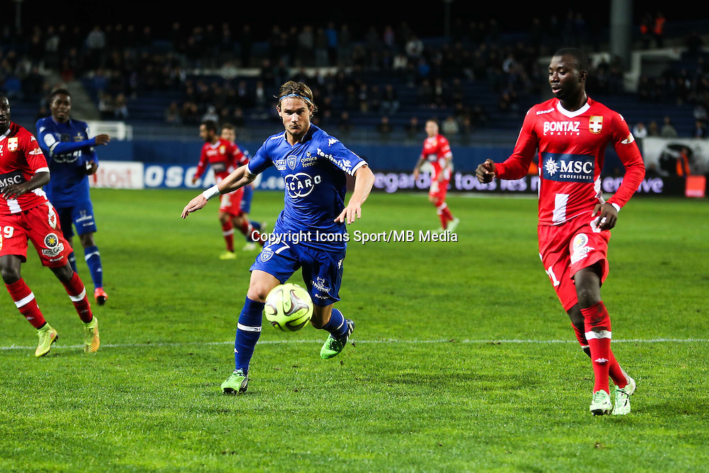 Guillaume GILLET - 03.12.2014 - Bastia / Evian Thonon - 16eme journee de Ligue 1 <br />