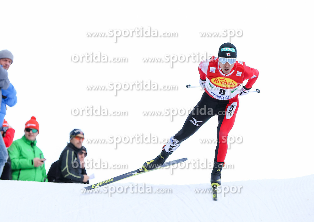 17.12.2016, Nordische Arena, Ramsau, AUT, FIS Weltcup Nordische Kombination, Langlauf, im Bild Akito Watabe (JPN) // Akito Watabe of Japan during Cross Country Competition of FIS Nordic Combined World Cup, at the Nordic Arena in Ramsau, Austria on 2016/12/17. EXPA Pictures © 2016, PhotoCredit: EXPA/ Martin Huber