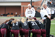 March 21, 2015: The University of Texas-Permian Basin Falcons play against the Oklahoma Christian University Lady Eagles at Tom Heath Field at Lawson Plaza on the campus of Oklahoma Christian University.