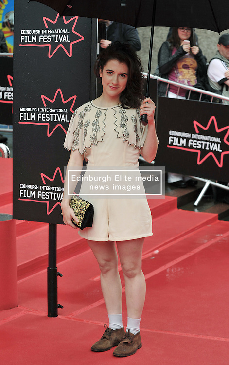 """Edinburgh International Film Festival, Sunday 26th June 2016<br /> <br /> Stars turn up on the closing night gala red carpet for the World Premiere of """"Whisky Galore!""""  at the Edinburgh International Film Festival 2016<br /> <br /> Game of Thrones star Ellie Kendrick, who plays Catriona Macroon in the film.<br /> <br /> (c) Alex Todd   Edinburgh Elite media"""