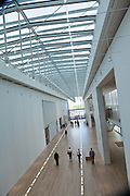 Griffin Court inside the Art Institute in Chicago, IL, USA.