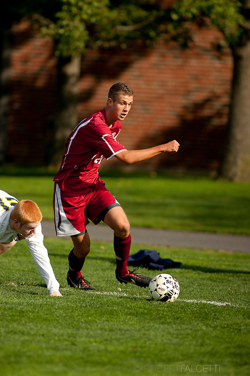 Taft School-October 12, 2013- Boys Varsity Soccer v Trinity-Pawling. (Photo by Robert Falcetti)