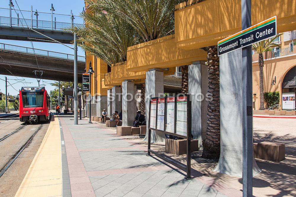 Grossmont Trolley Station San Diego