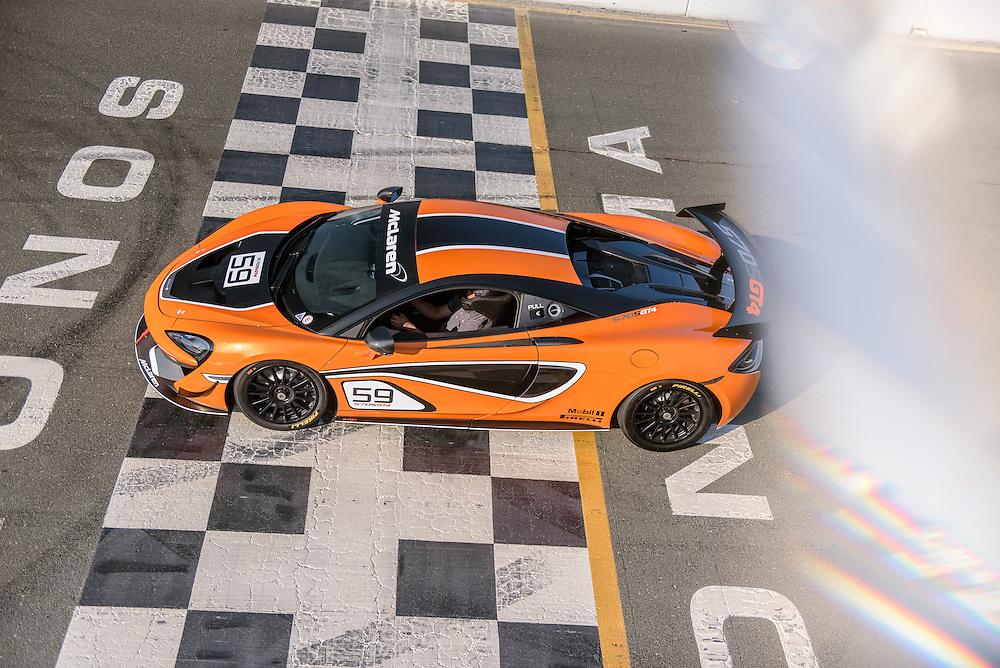 McLaren 570s GT4, Sonoma Raceway | Simraceway