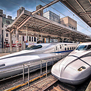 They say in Japan if the Bullet Train is late it's your watch that is wrong. Darting through the Japanese countryside at hundreds of miles an hour from Tokyo to Kyoto had to be one of the best modes of transport I'd ever taken.